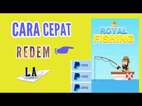 CARA CEPAT REDEM Di ROYAL FISHING    Game Penghasil Uang Terbaru