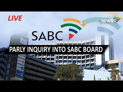 SABC Board Inquiry - Ellen Tshabalala, 13 January 2017