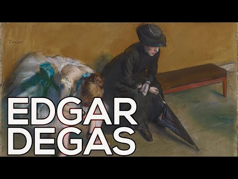 Edgar Degas: A collection of 658 paintings (HD)