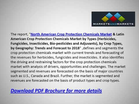 North American Crop Protection Chemicals Market - Future Trends & Forecast 2018