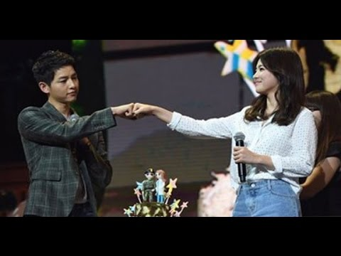 [FULL] ENG SUB 160617 Song Joong Ki Chengdu Fan Meeting 송중기 청두팬미팅 (Guest: Song Hye Kyo 송혜교)