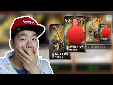 Nba Award Winners All Defensive Pack Opening - Two 96 + Pulls - Nba Live Mobile