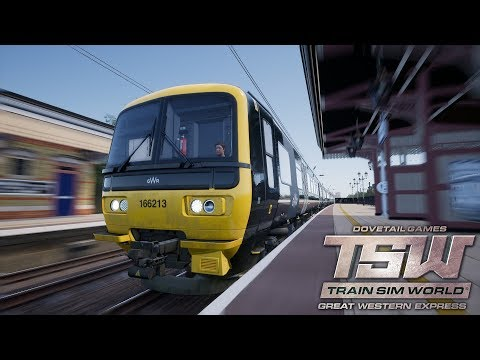 TSW: Great Western Express - Scenario: Down the Line - Class 166