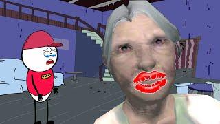 GRANNY ki Horror Chummi - Horror Kiss | Horror Story (ANIMATED IN HINDI) Make Horror Of