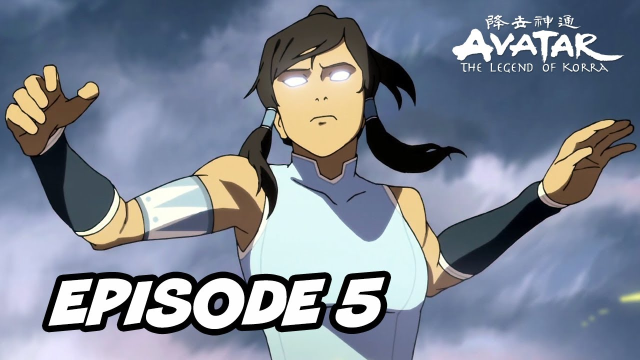 episode book avatar korra 5 2