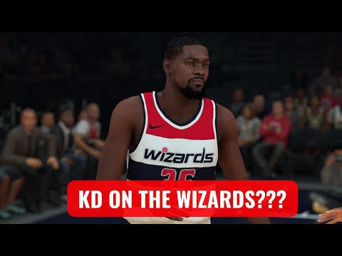 "WHAT IF KEVIN DURANT PLAYED FOR THE WASHINGTON WIZARDS TODAY??? | NBA ""WHAT IFS"" 
