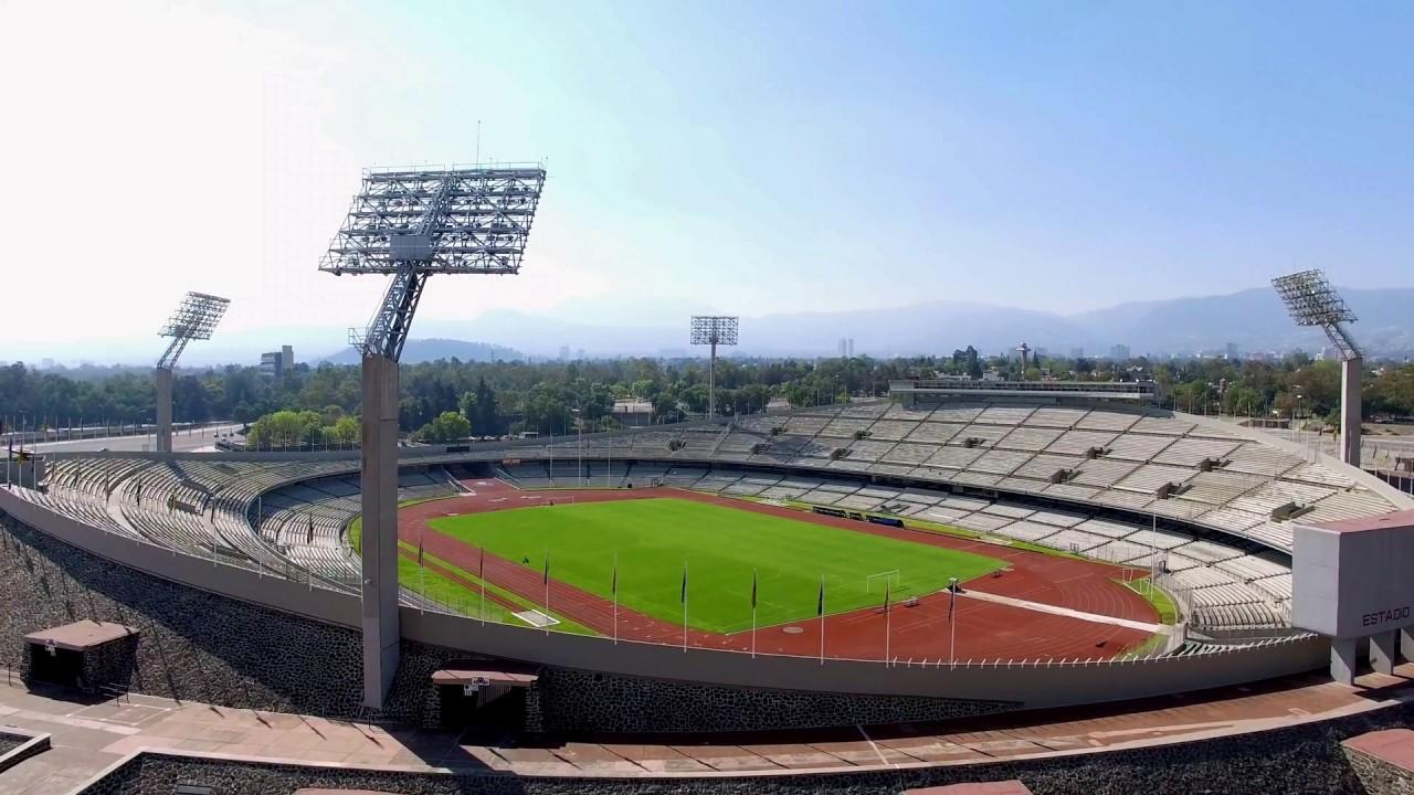 Estadio ol mpico universitario rector a unam youtube for Puerta 9 estadio universitario