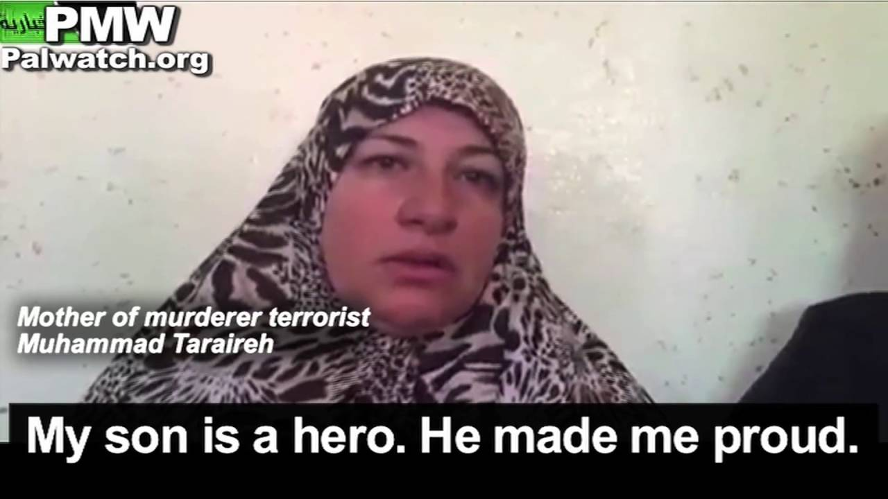 "Mother of terrorist who stabbed 13-year-old girl to death: ""My son is a hero. He made me proud"""