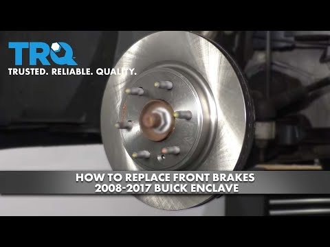 How to Replace Front Brakes 2008-17 Buick Enclave
