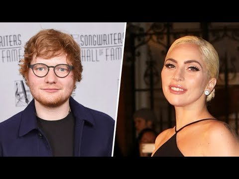 Lady Gaga DEFENDS Ed Sheeran After Her Fans Force Him Off Of Twitter