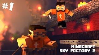 Yeni Bir Başlangıç - Minecraft Sky Factory 2 - Bölüm 1