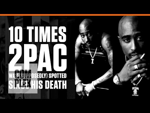 2Pac Alive? 10 Times 2Pac Was (Supposedly)...