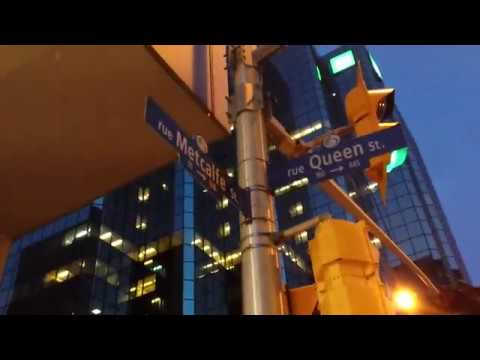 Ottawa: A fast walk through downtown Ottawa