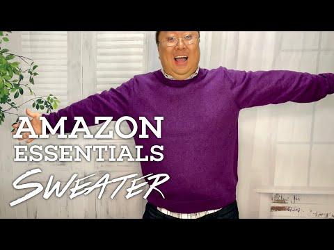 $18 Amazon Essentials Crewneck Sweater Review