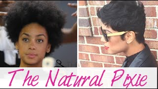Creating the Natural Hair Pixie Cut