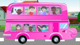 ล้อรถบัส | เพลงเด็ก | เพลงเด็กอนุบาล | Wheels on the Bus Nursery Rhyme