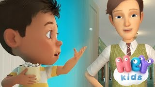 Johny Johny Yes Papa song with lyrics   Nursery rhymes collection by HeyKids