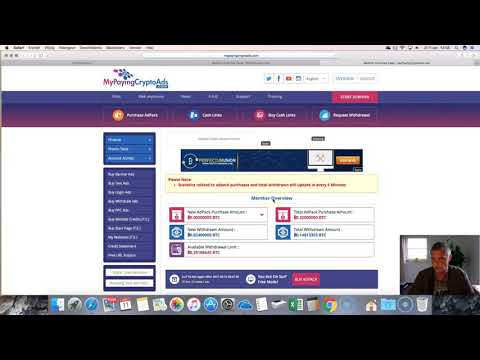 How to make money online with My Paying Crypto Ads review Ralf At work