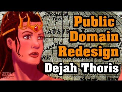 Public Domain Redesign Dejah Thoris By Shell Presto ( Digital Speedpaint )