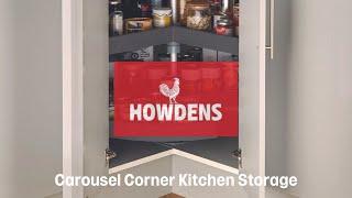 Standard Corner Carousel Kitchen Storage