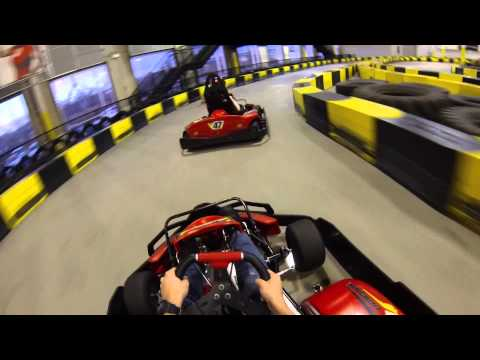 Go-Karting at Pole Position Raceway in Jersey City