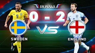 Anh - Thụy Điển - 2 - 0 : Hai cú ĐÁNH ĐẦU SẤM SÉT đưa tuyển Anh vào bán kết World Cup 2018