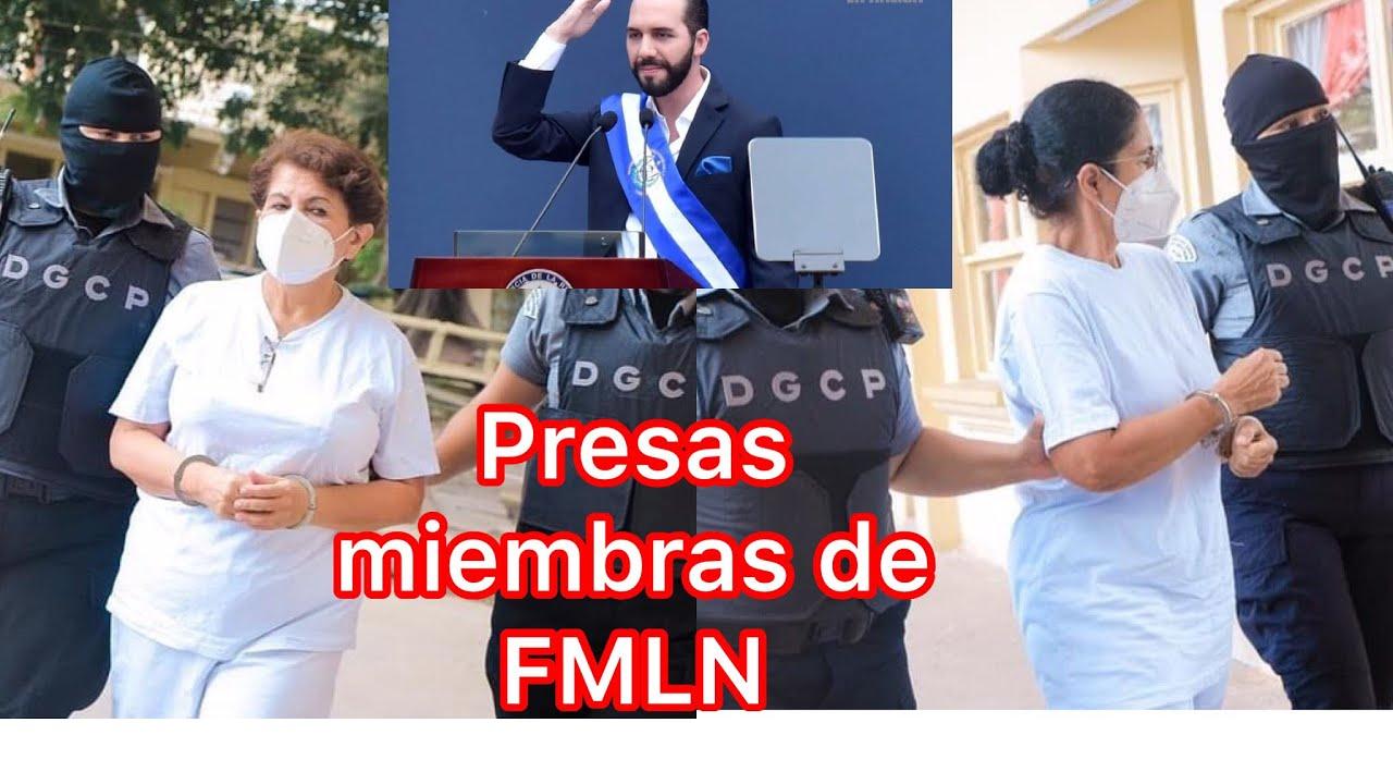 Ex ministras de FMLN llevadas a carcel de mujeres bukele dice regresen el dinero o les espera esto
