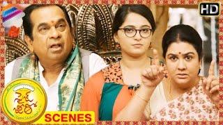 Size Zero Telugu Movie Scenes | Brahmanandam gets angry on Anushka | Arya | Prakash Raj