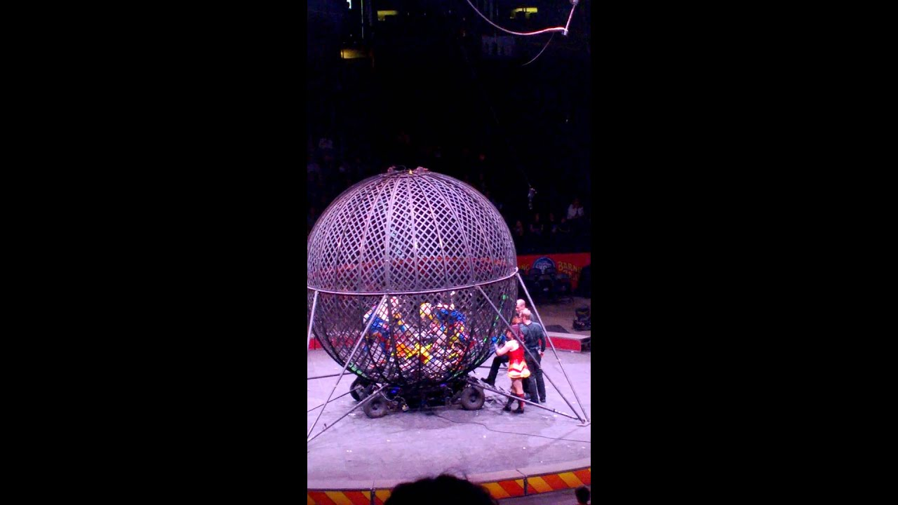 The Globe Spokane >> Ringling Bros globe of death motorcycle accident, EPIC FAIL - YouTube