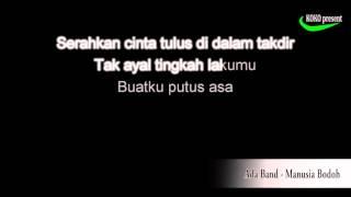 Video Ada Band   Manusia Bodoh   Version Karaoke   No Vocal HD hd720 download MP3, 3GP, MP4, WEBM, AVI, FLV Mei 2018