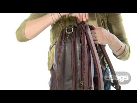 The Many Features of the SOLO Vintage 15 Laptop Backpack