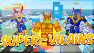 MAD CITY SUPER VILAINS! Roblox with Mary