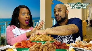 WING STOP MUKBANG! WHAT'S YOUR FAVORITE PLACE TO EAT WINGS?