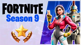 SEASON 9 AT FORTNITE AND BATTLE PASS PURCHASE!
