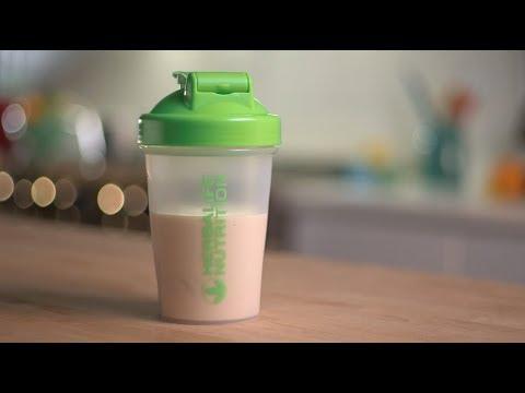 Caramel Apple Cobbler Protein Shake