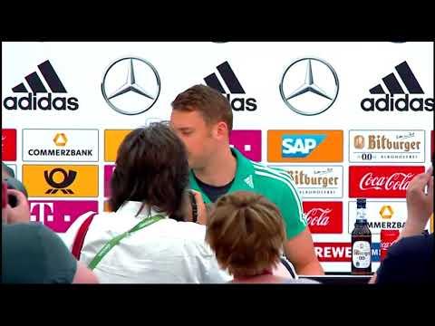 Pressekonferenz aus Südtirol mit Bundestrainer Joachim Löw & Manuel Neuer 04.06.18