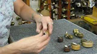 Antiques Hardware Demonstration About How To Add Casters To A Table Leg.