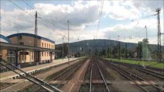 Cabview (Břeclav) - Kúty - Bratislava EC 275 Slovan 350 014-7