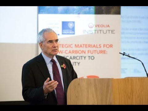 Lord Nicholas Stern - Resource Availability Conference Nov 2017