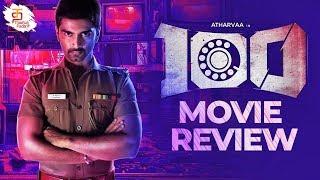 100 Tamil Movie Review | Atharvaa Murali | Hansika | Sam Anton | Sam CS