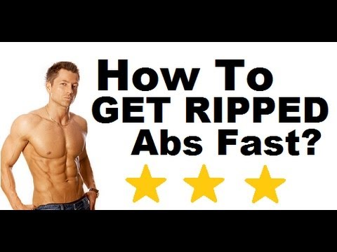 How to Get Ripped Abs, Chest and Arms Fast in a Week at Home ...