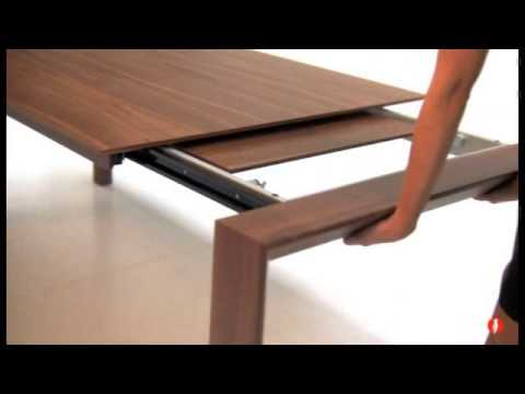 Calligaris Omnia Wood Dining Table   Product Review Video