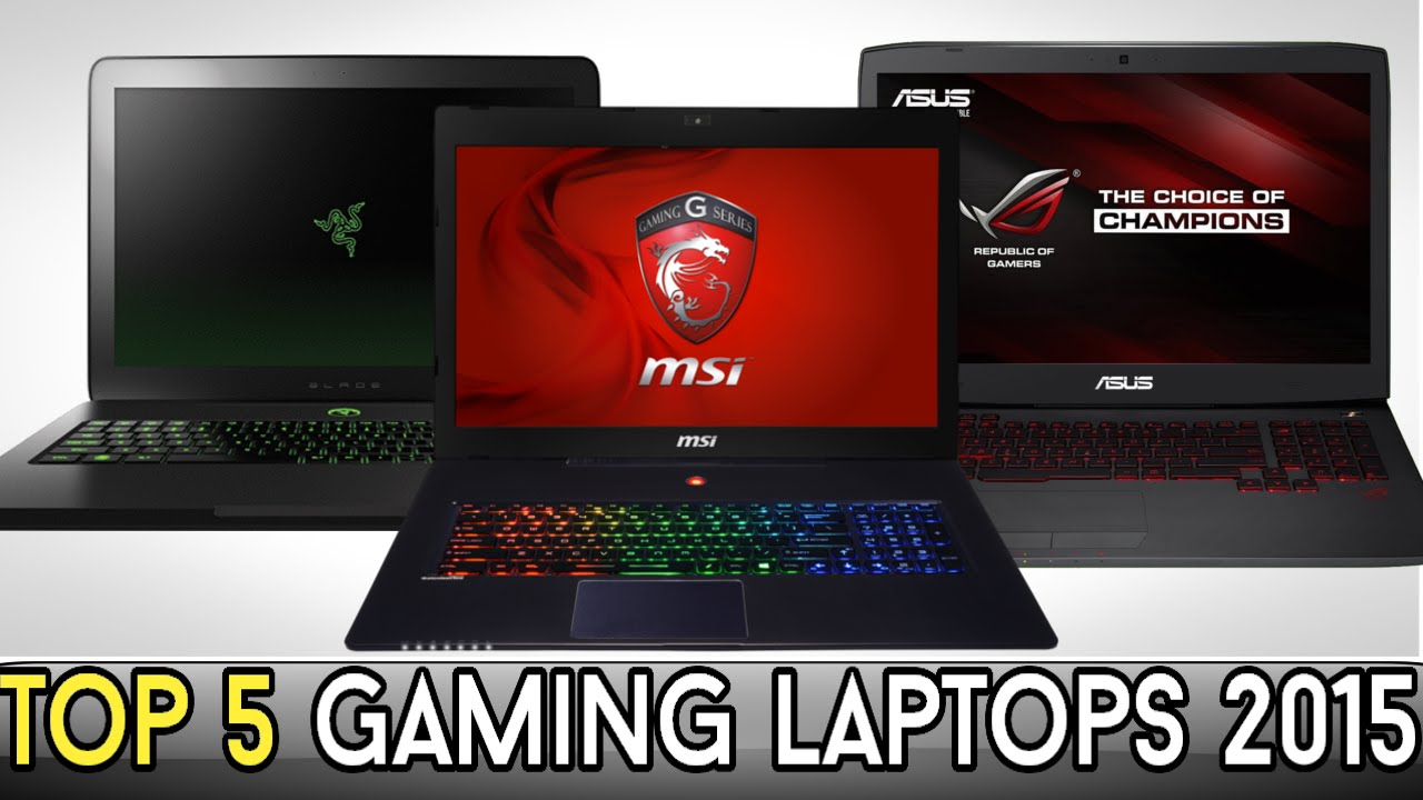 Top 5 Best Gaming Laptops For 2015 600 2600 Youtube