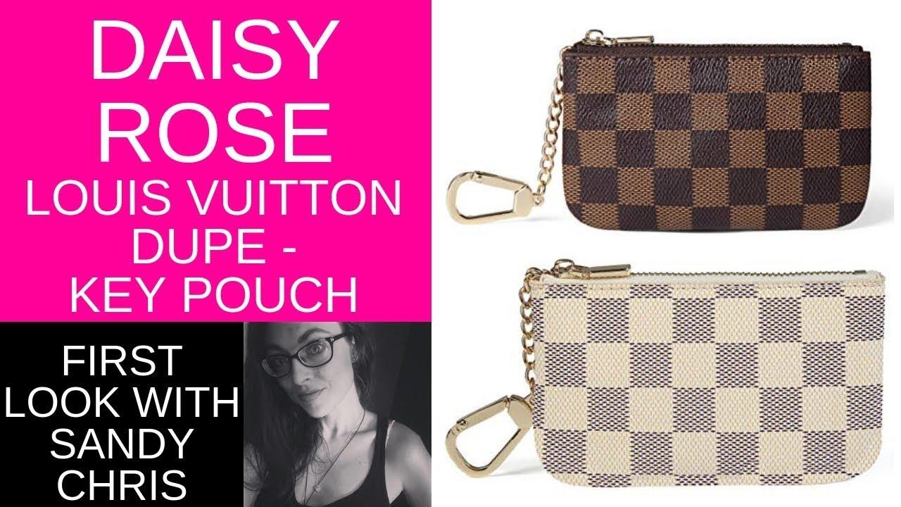 Daisy Rose Key Pouches Louis Vuitton