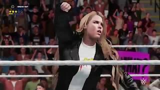 WWE 2K18 Ronda Rousey vs Billie Kay Gameplay!!!