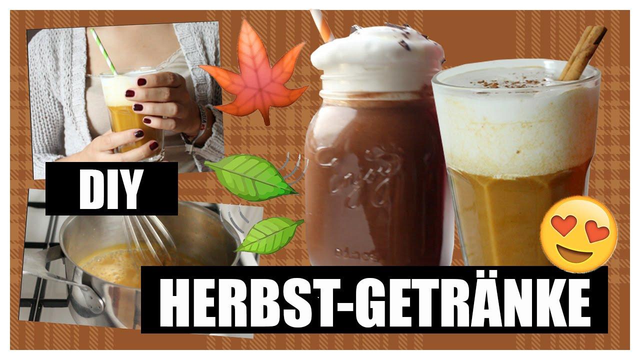 DIY Herbst-Getränke: Pumpkin Spice Latte & Hot Chili Chocolate VEGAN ...