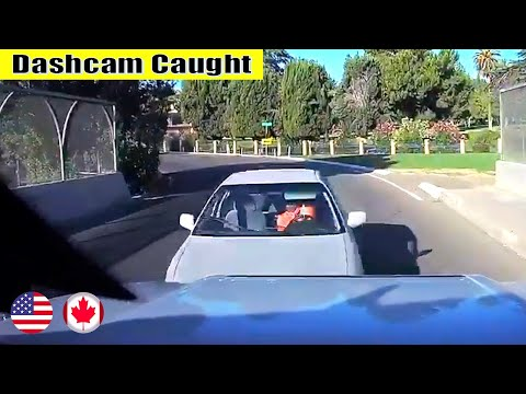 Ultimate North American Cars Driving Fails Compilation - 140 [Dash Cam Caught Video]