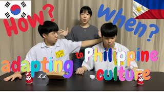 How Koreans changed living in the Philippines #1| when Koreans can speak in Tagalog?! |