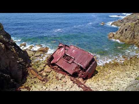 RMS Mülheim Shipwreck - Lands End, Cornwall