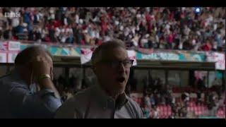 Gary Lineker, Alan Shearer, Rİo Ferdinand, Celebration to Sterling Goal Vs Germany